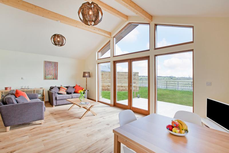Open views and and bright surroundings
