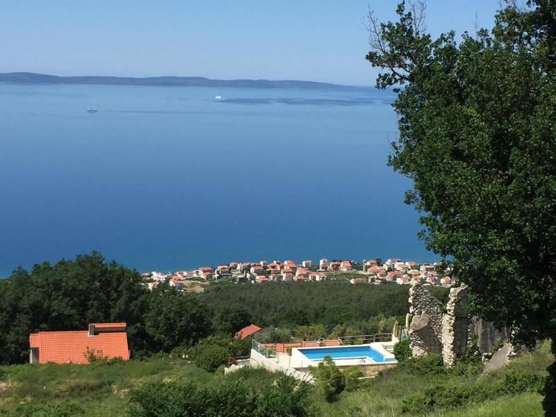 Fantastic view of Villa 'Sky' Podstrana swimming pool