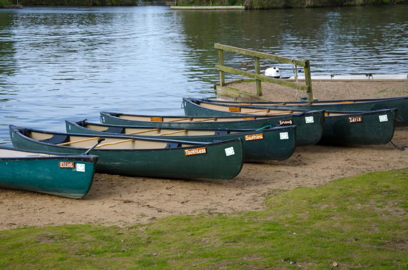 Canoe hire at Salhouse Broad