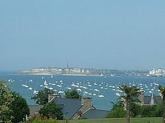 View of St Malo from Dinard