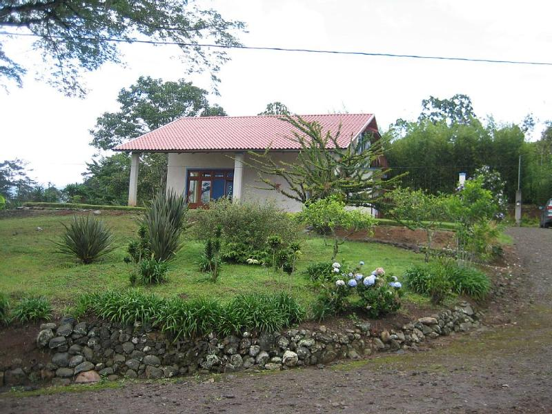 Beautiful modern house in a typical costarrican small coffee farm.