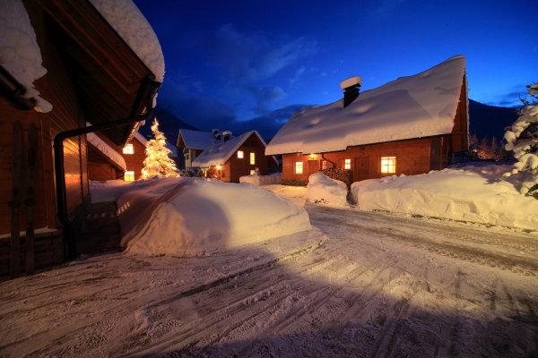 Chalet & Skiing