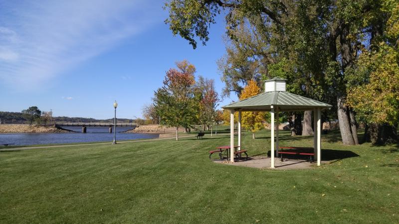 parque de frente de agua Hudson