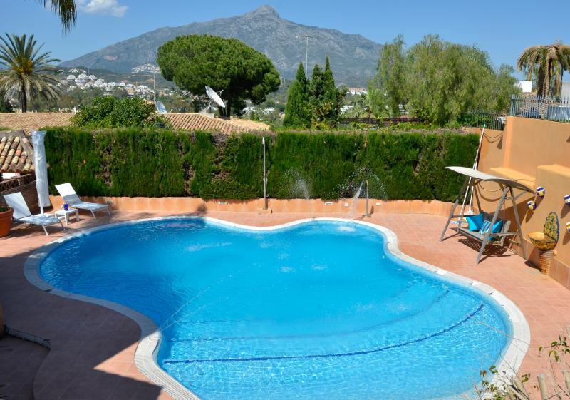 Villa Lucia Marbella. Spain. Beach and golf., holiday rental in Nueva Andalucia