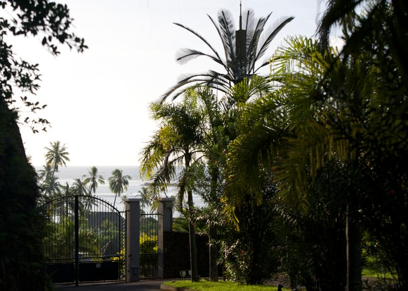 Gate to residence