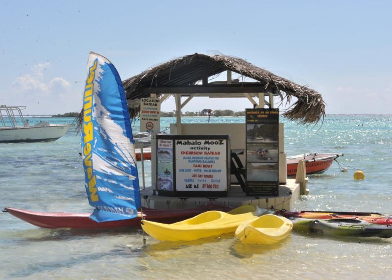 Windsurf, kayak and paddle board rentals