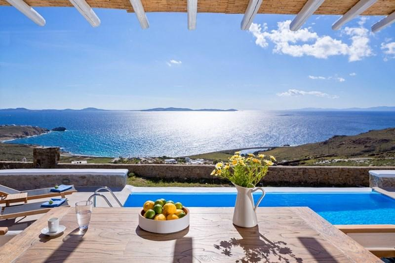 BlueVillas   Villa Pasiphae I   Family luxury with pool & view to near islands, holiday rental in Choulakia