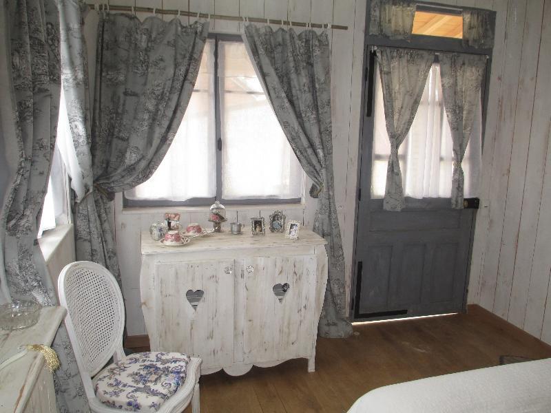 L'intérieur de la chambre