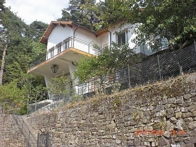 Frontal view of Villa