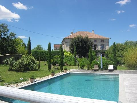 Notre piscine !