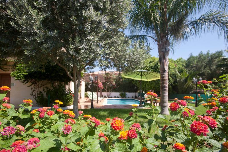 Private pool,(8x4m)garden patioBBQ area.