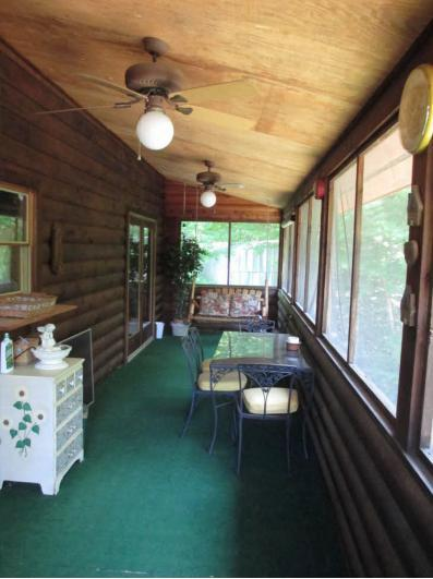 Lanai: screened in porch with french doors to master bedroom