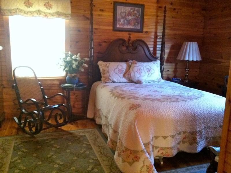 Master Bedroom on 2nd Floor -  rustic yet elegant