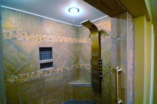 Custom Spa Shower