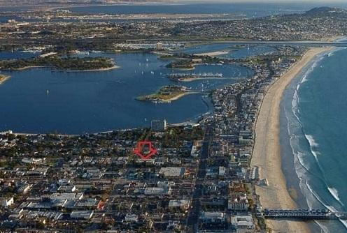 Furnished 2BR 2BA Condo in Pacific Beach, vacation rental in San Diego