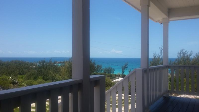 Sea views from standing by the front door while on the porch.