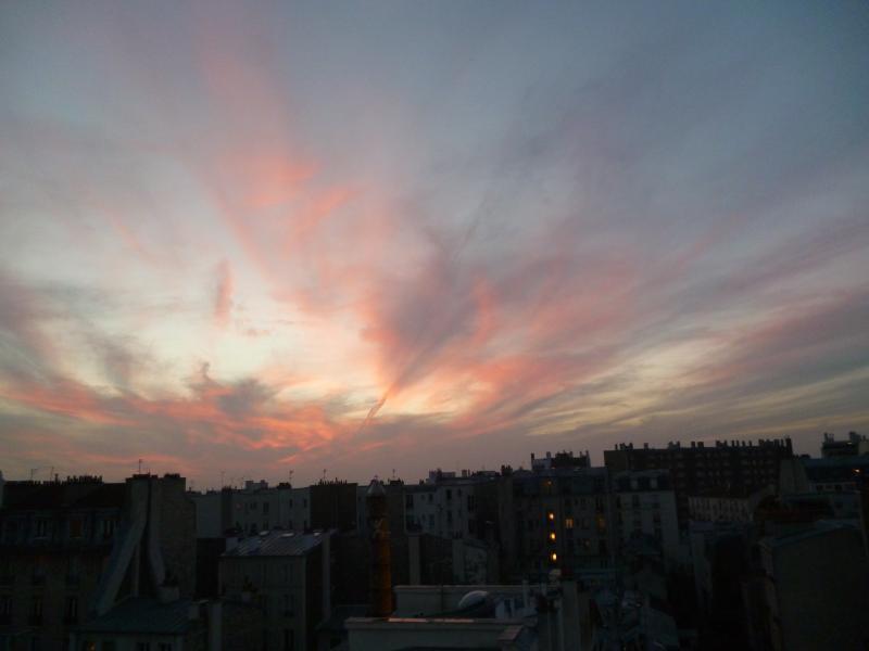 Magnifiques couchers de soleil, vue sur tout Paris