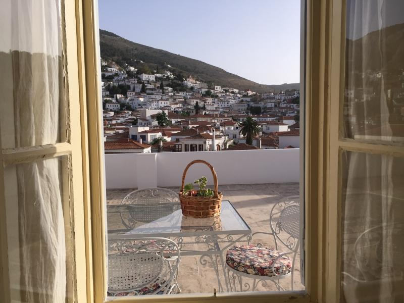 View from second bedroom on terrace