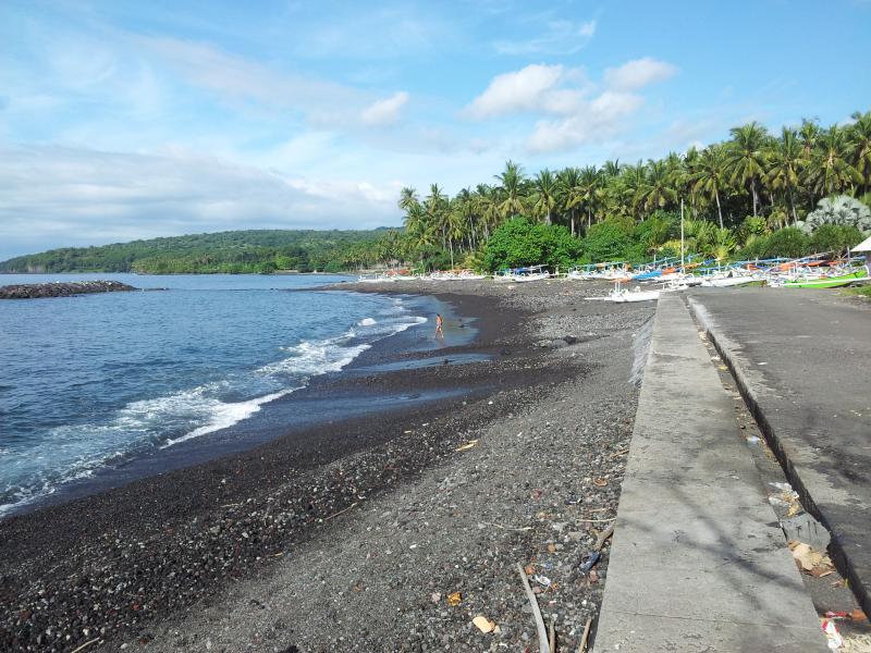 Fisher mans beach near bungalow.