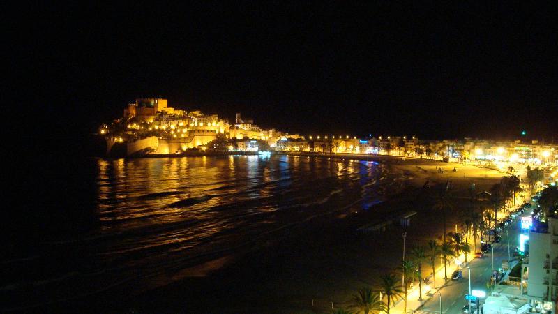night Peñiscola