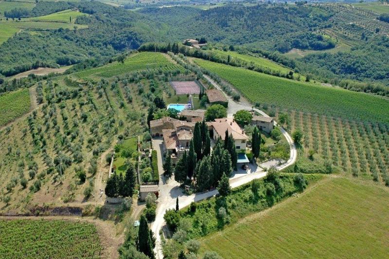 Fattoria Quercia al Poggio - Apartment Cappella 4, vakantiewoning in Barberino Val d'Elsa
