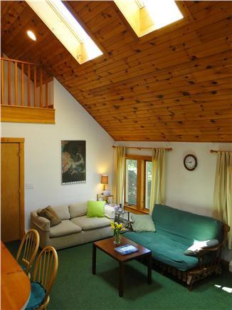 Skylights with beadboard cathedral ceilings in Great Room!  Open & Bright!!!
