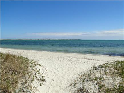 Private access ocean beach on Nantucket Sound south side winter view... Warmest Cape waters!!!
