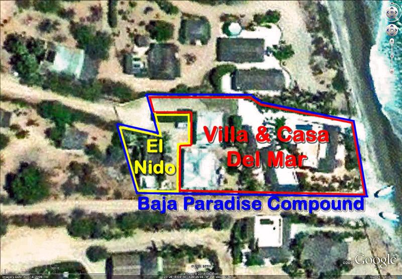 Baja Paradise private compound