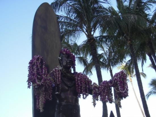 The Duke to greet you to Waikiki... have a look at the Moana hotel for museum of the Duke