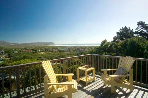 Front deck - views over Noordhoek wetlands