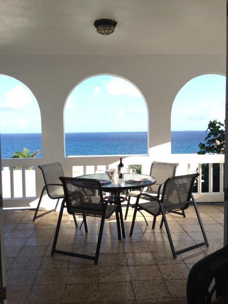 Meals on the veranda