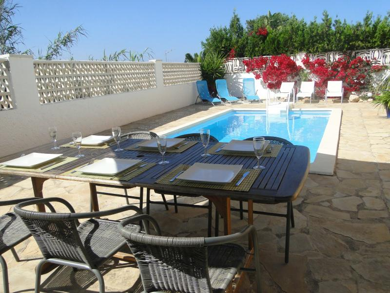 Luxury detached holiday villa: Villa Mediterranea in Vinaroz, holiday rental in Vinaros