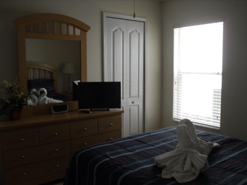 Bedroom 2 has a Flat Screen Smart TV