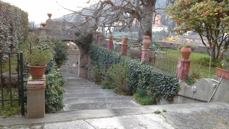 scalone entrata  Villa Martini
