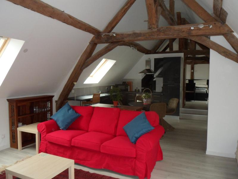 Le Moulin Volarie - Le Grenier, holiday rental in Beaumont Pied De Boeuf