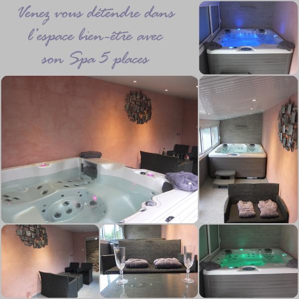 venez vous relaxer dans notre spa ,au calme en Bretagne près de st Malo, Dinan ,cap Fréhel.