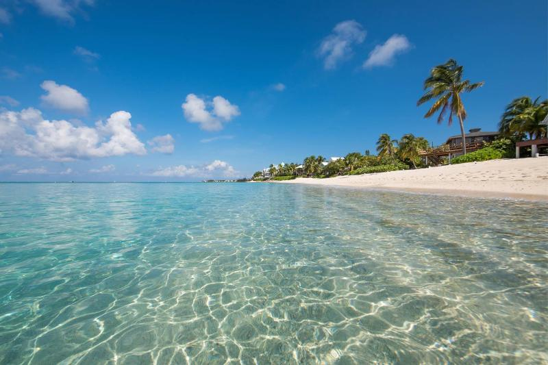 Crystal Clear Water and beautiful white.
