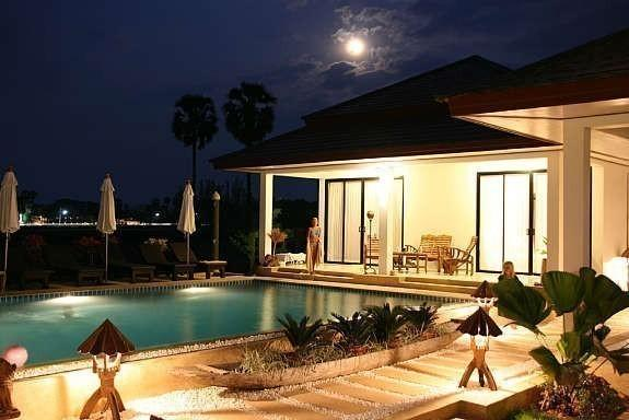 Located 500m from Bang Tao Beach ,20 beds,Serviced With staff. Luxury vacation home With big sw.pool