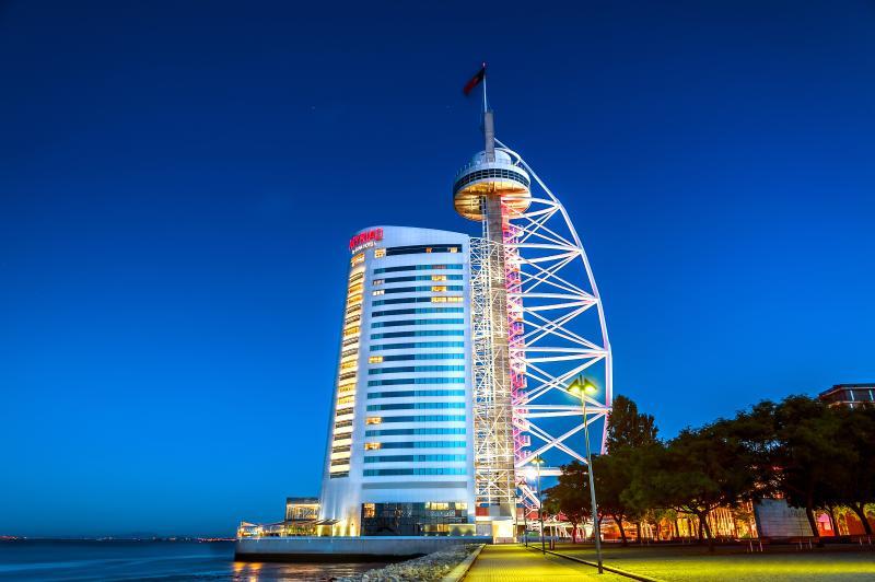 The Torre Vasco da Gama in Parque das Nações.