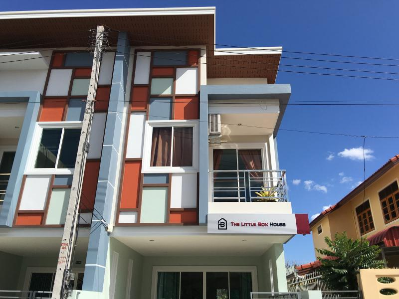 A Brand New and Modern Look Townhouse. 'The Little Box House' is located in Krabi Town.