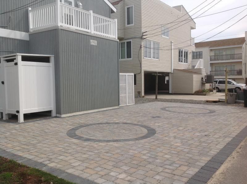 2 beautifully paved off street parking spaces