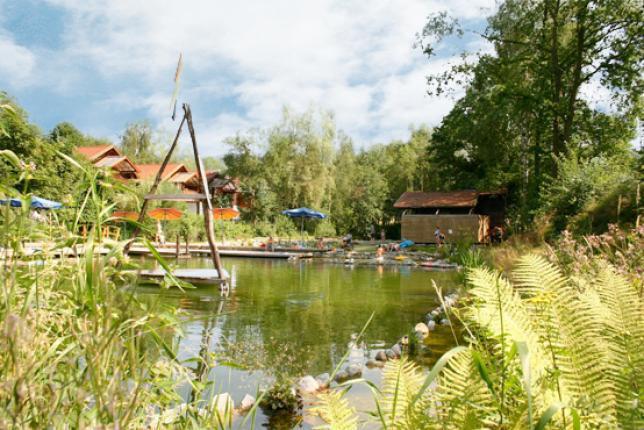 4 Personen Ferienwohnung am Wasser, holiday rental in Blaibach