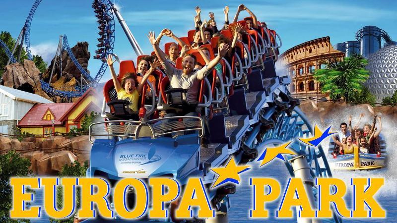 A proximité du Parc d'attraction:  Europa-park