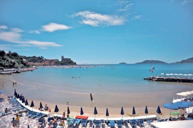 Lerici. A 1,5 hour walk from Ameglia.