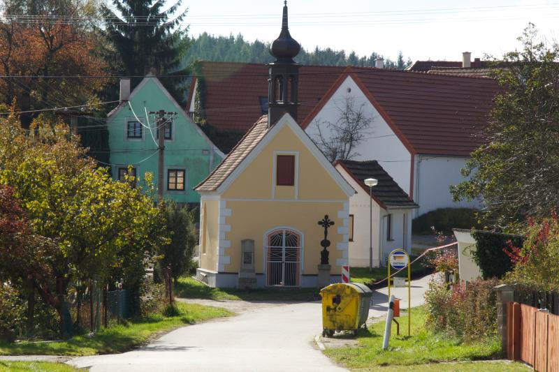The village of Poresinec, lets ignore the recycling bins!