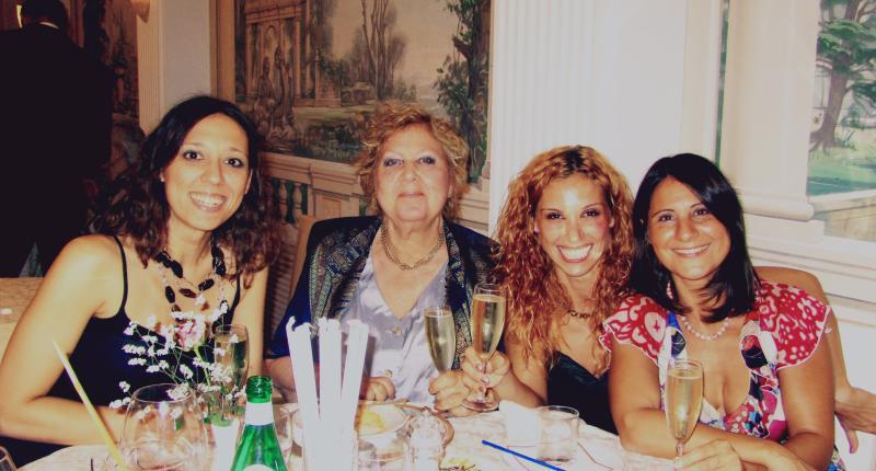 Marina, Maria Letizia, Chantal and Serena, the owners!