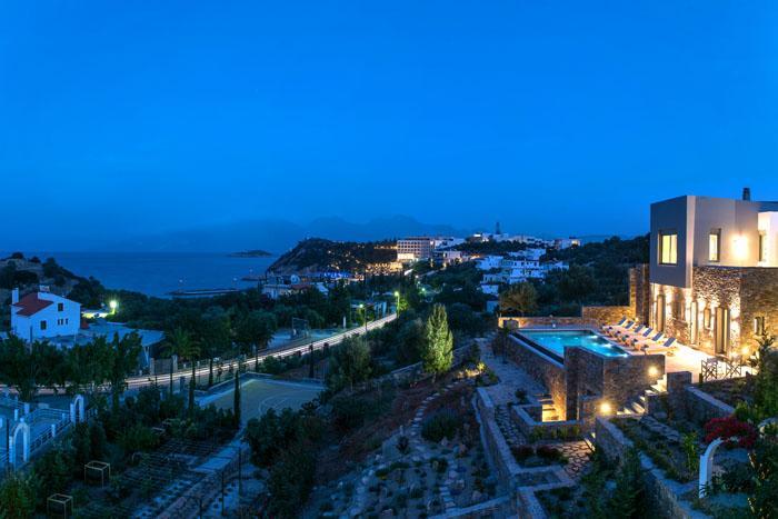 Villa Hermione, location de vacances à Agios Nikolaos