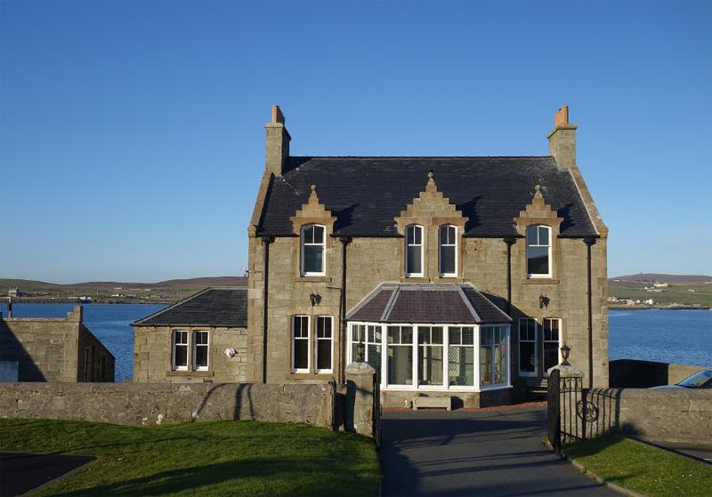 Welcome to South Ness House. A traditional stone manse built in 1902