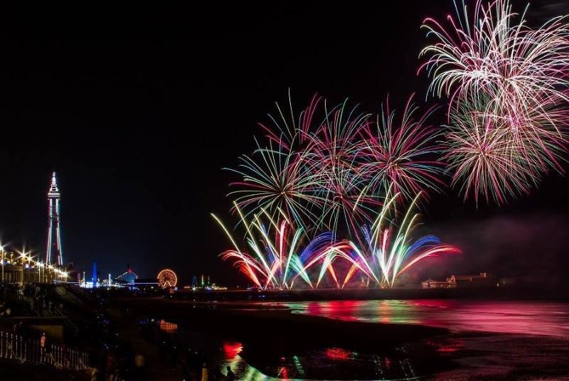 International Firework competition on Fridays in September/October