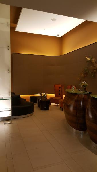 Lobby guest waiting area